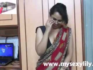 인도의 아기 lily 섹스 선생