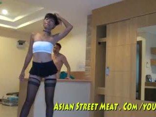 항문의 hook 용 아시아의 maket meat