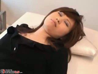 Extreme Japanese hottie fucking the doctor