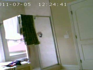 Son's 18 yo draugs atkal par slēpts kamera