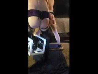 Dominte Wife Punshes Husband with Fuck Machine: Porn 73
