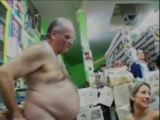 Papi: Old & Young & Public Nudity Porn Video b4