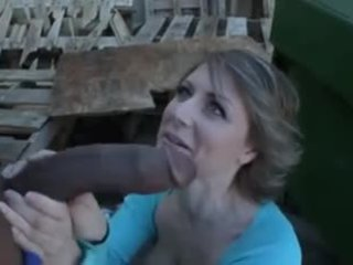 Hairy Mature Dumpster Rat Loves Interracial Anal