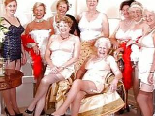 grannies, milfs, old + young