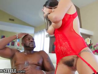 Lexington steele gives huge sik to karlee grey