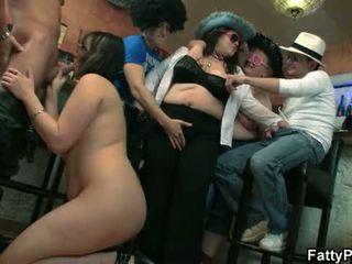 party sex, bbw gangbang, bbw group