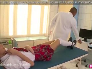 Little Gina gets her tight asshole pumped inside out!