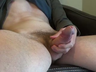 Jerk off and play with my big sik