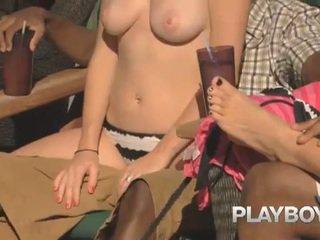 Playboy wingers arkasında the sahneler