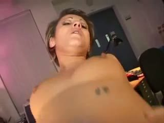 Jana Bach Enjoys A Big Dick At The Office