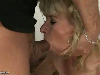 hardcore sex, стар, баба
