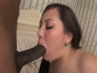 big cock, interracial, azja