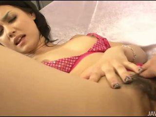 Sexo com asiática peluda gal