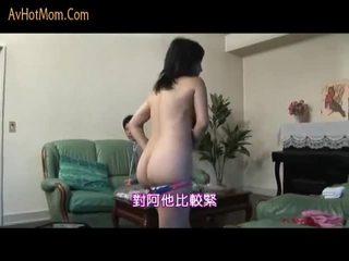 Japanska momen seduced av salesman