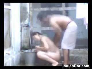 シャワー, アウトドア, インディアン