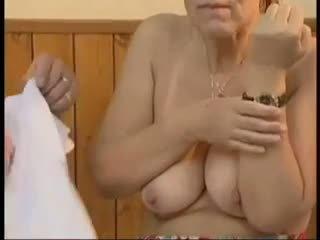 babcie, stary + młoda, maseczki