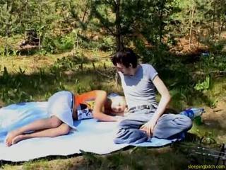 outdoor, sleeping