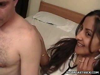 Breasty नर्स clinic सेक्स