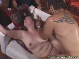 Screw My Wife Club: Hard cock for a wife with a big ass