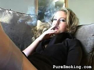 video, jonge meisjes roken, roken fetish