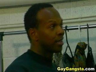 Ebony Gays Hardcore Anal Gap Fucking