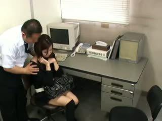 morena, japonés, voyeur