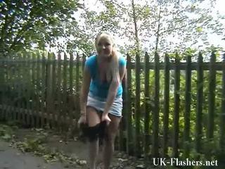 Blondynka nymphs exhibitionism i motorway self stimulation z flashing lena onto a publiczne nudity rampage okrągły england
