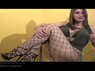 Take Her Out In Public Joi - Fishnet Pantyhose And High Heels