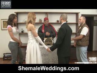 Alessandra Tony Shemale Wedding Sex
