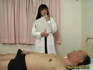 Hot sexy asia doc feels around