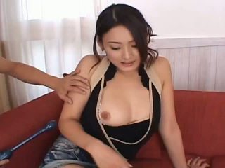 Risa aianlovely asiatisk dukke gets fitte teased