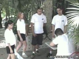 Príťažlivé latina kočka teens hardcore trtkanie