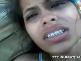 Orissa indisk kjæreste knullet av boyfriend i skog med audio