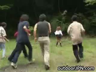 reāls japānas kvalitāte, jauks interracial, liels valsts