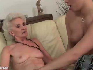 Vecchio e giovane lesbica compilation