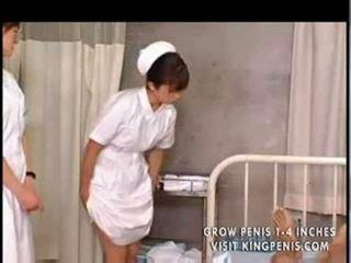 Japoniškas studentas nurses mokymas ir praktika part1