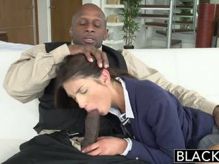 Blacked বাস্তব মডেল august ames loves কালো বাড়া