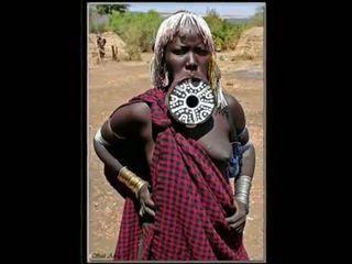 Nigerian प्राकृतिक आफ्रिकन गर्ल