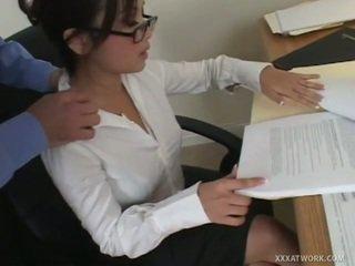 hardcore sex, blowjobs, office sex