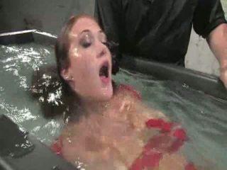 hardcore sex, behaarte muschi, bondage sex