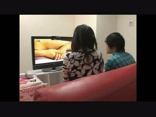 Ibu dan putra menonton porno bersama eksperimen 4