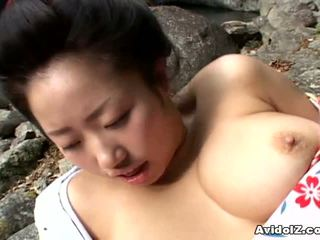 Seksikas geisha kotone yamashita perses raske