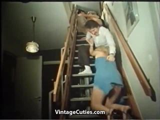 Horny Vintage Whores Dissolute Group Fucking