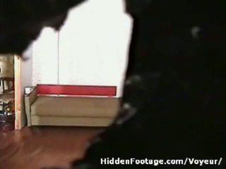 লুক্কায়িত ক্যাম watches কাজের মেয়ে being দুষ্টু
