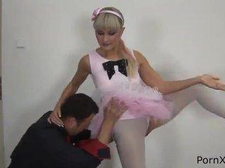 Freaky ballet dancer anita has tehtud armastus wazoo jooksul the rehearsal