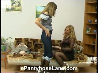 Maria и etta мръсен чорапогащник движение