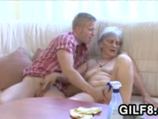 močiutė, blowjob, senas + young