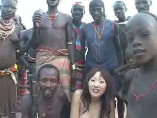 Afrikaans native neuken japans meisje video-