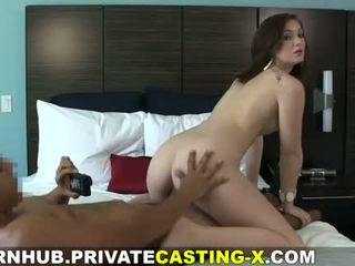 Privat auditie x - mea în primul rând natural red-haired pasarica