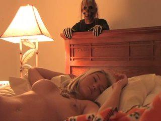 Halloween bonus kiimas ilus seksikas teismeline täis filmid